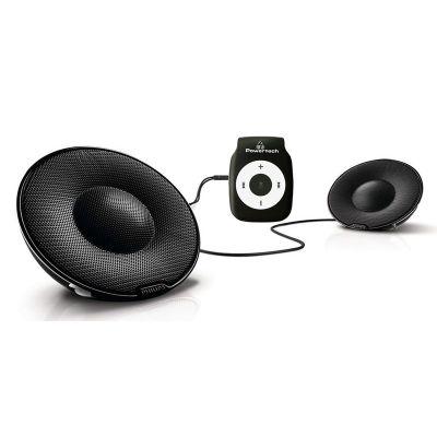POWERTECH MP3 Player με Philips φορητό παθητικό ηχείο SBP1120, μαύρο - POWERTECH 18137