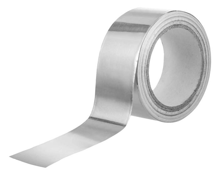 PRIMO TAPE αυτοκόλλητη ταινία αλουμινίου SEL-013, 48mm x 5m - PRIMO TAPE 30394