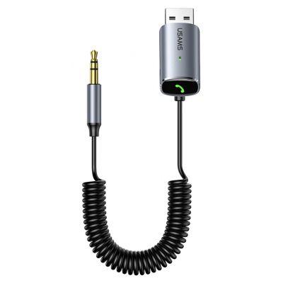 USAMS audio receiver αυτοκινήτου US-SJ504, wireless, BT, SD card - USAMS 42449