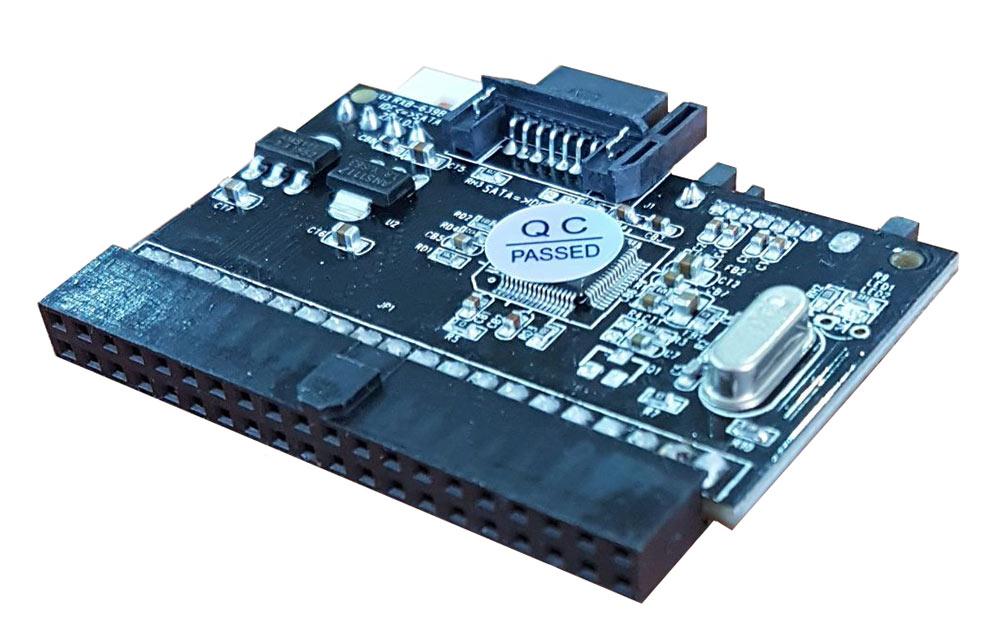 POWERTECH Κάρτα Επέκτασης SATA to IDE, IDE to SATA, Chipset JMB20330 - POWERTECH 8077