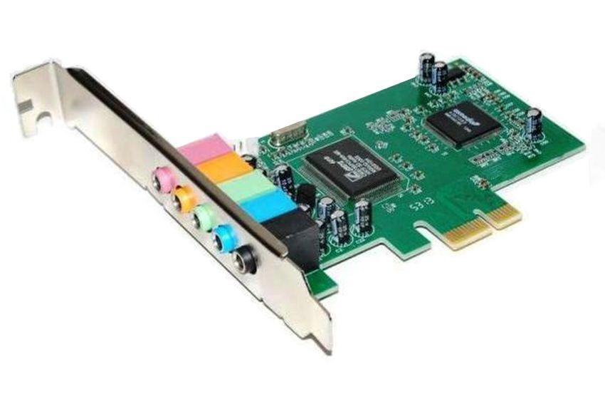 POWERTECH Κάρτα Επέκτασης PCI-e to 6 channel Audio, Chipset CM8738 - POWERTECH 8075