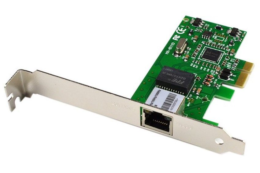 POWERTECH Κάρτα Επέκτασης PCI-e to LAN 10/100/1000, Chipset 8111E - POWERTECH 8073