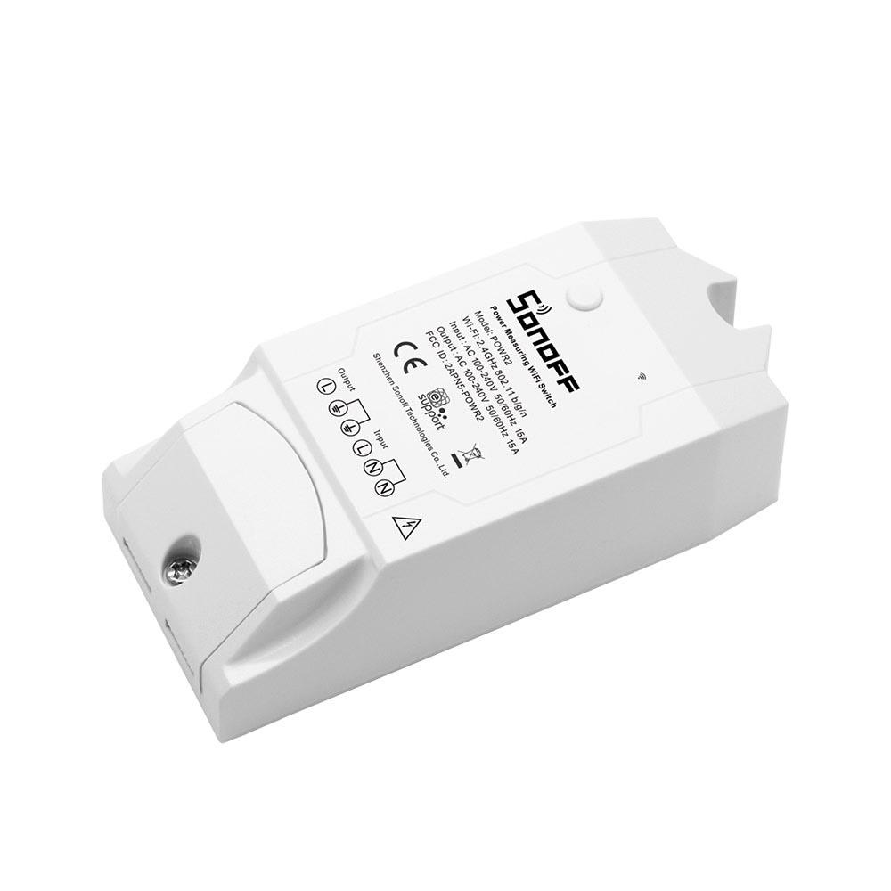 SONOFF Smart Διακόπτης 4CH PRO R2, 4 θέσεων, 10A, WiFi, RF, λευκός - SONOFF 22865