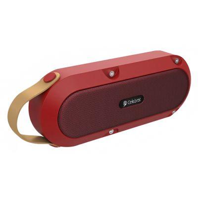 CELEBRAT φορητό ηχείο SP-5, 10W TWS, BT/3.5mm/USB/SD Card, κόκκινο - CELEBRAT 35982