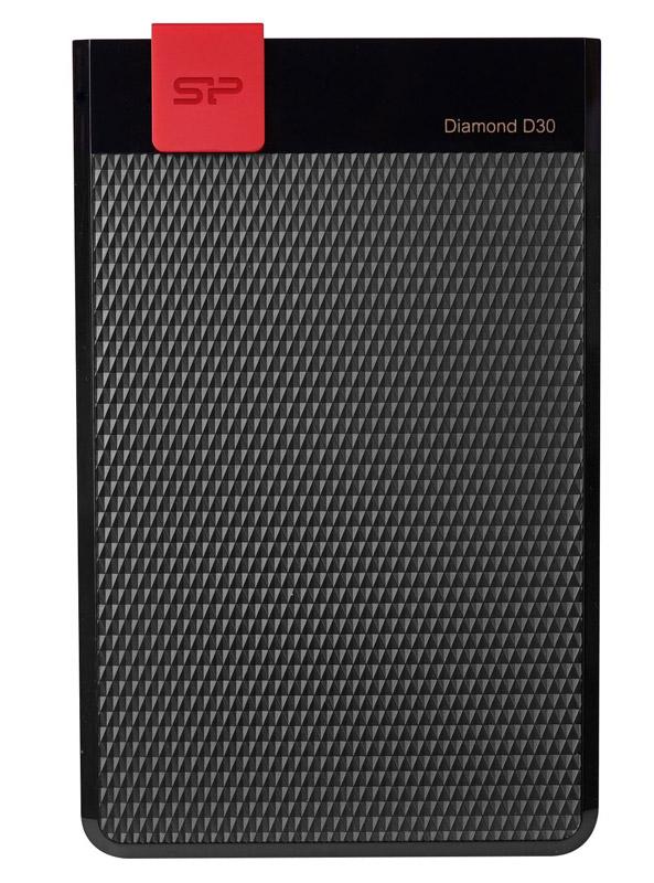 SILICON POWER Εξωτερικός HDD 2TB Diamond D30 D3L, USB 3.1, Black - SILICON POWER 16186