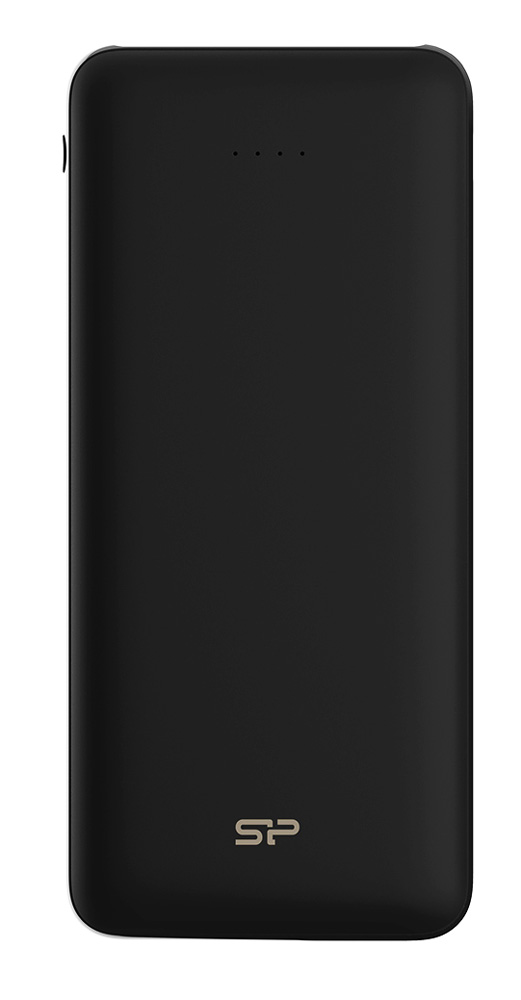 SILICON POWER Power Bank C200 20000mAh, 2x USB Output, Black - SILICON POWER 24281