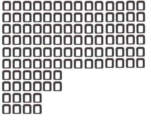 Αυτοκόλλητο φίλτρο αισθητήρα για iPhone 4G / 4S - UNBRANDED 9134