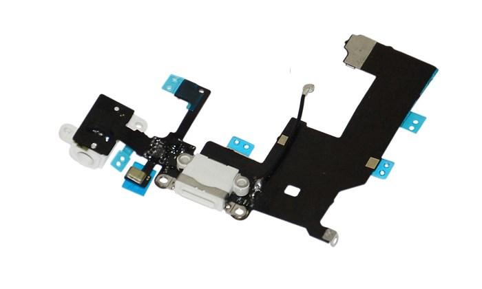 Καλώδιο Flex κοννέκτορα φόρτισης για iPhone 5G, White - UNBRANDED 9374