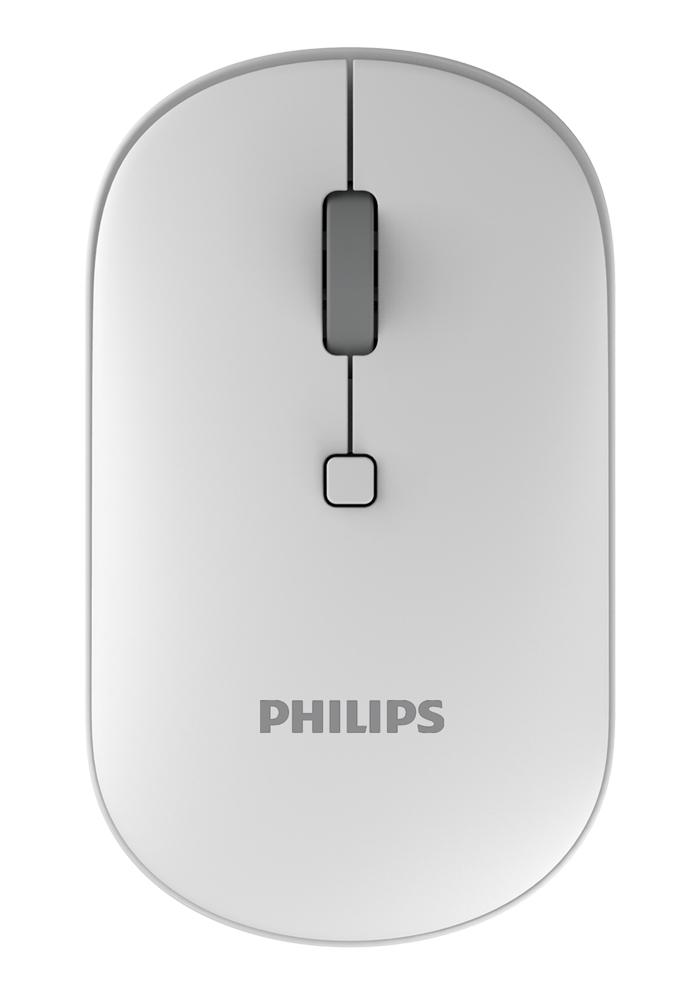 PHILIPS ασύρματο ποντίκι SPK7403, 2000DPI, 4 πλήκτρα, λευκό - PHILIPS 28780
