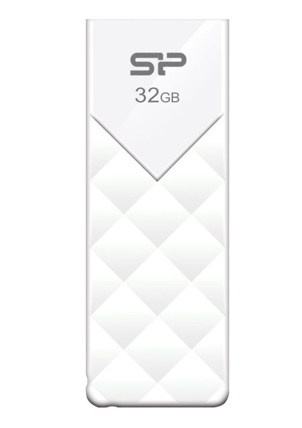 SILICON POWER USB Flash Drive U03, 32GB, White - SILICON POWER 4777