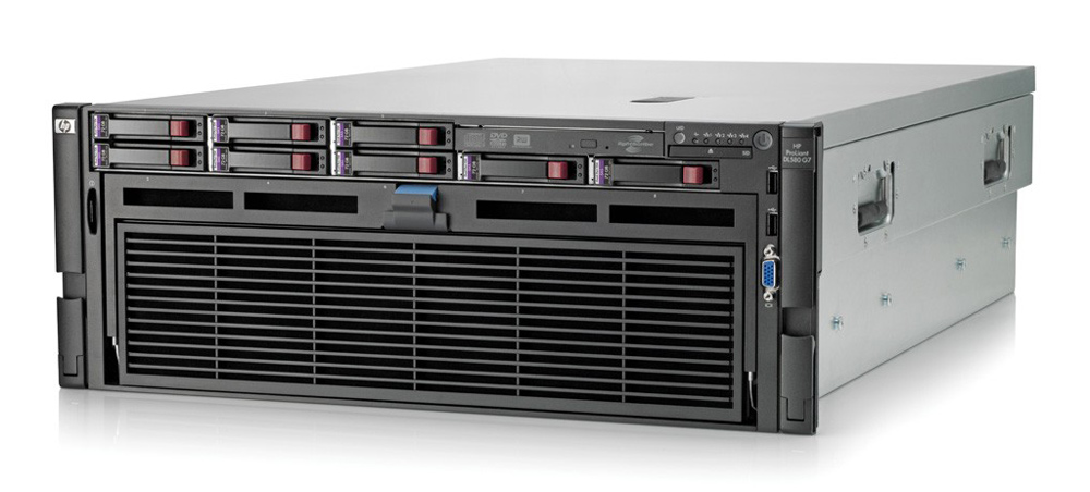 HP Proliant DL580 G7, 2x E7-4807, 8GB, 2x 1200W, P410i/512MB - HP 15323