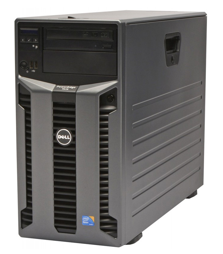 DELL Server PowerEdge T610, 1x E5506, 8GB, 2x 300GB, 2x 870W, REF SQ - DELL 22100