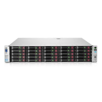 HP server DL380E GEN8 2x E5-2430L, 16GB, 2x 750W, P420/1GB, SFF, REF SQ - HP 22933