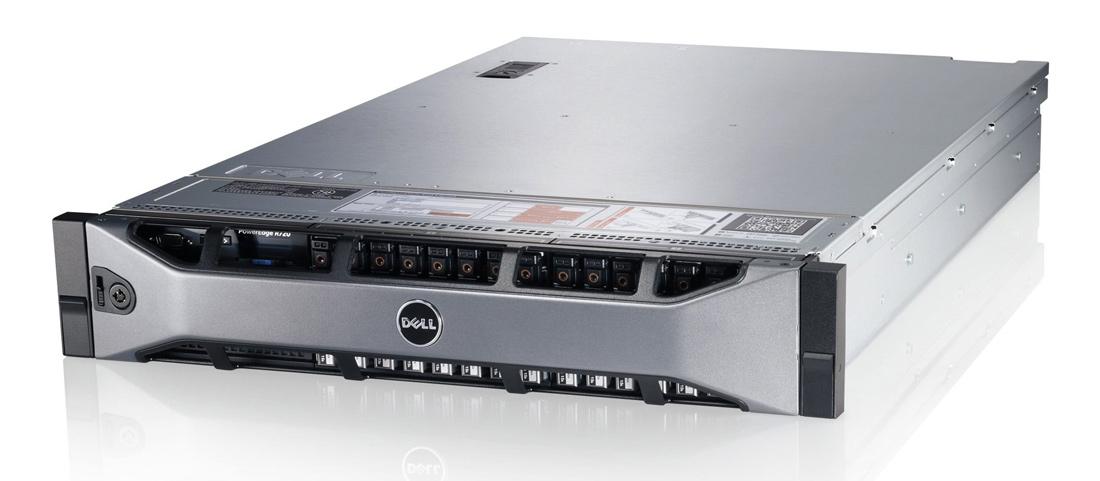 DELL used PowerEdge R720, 2x E5-2620,16GB, DVD, 2x 750W, 8x LFF, SQ - DELL 23064