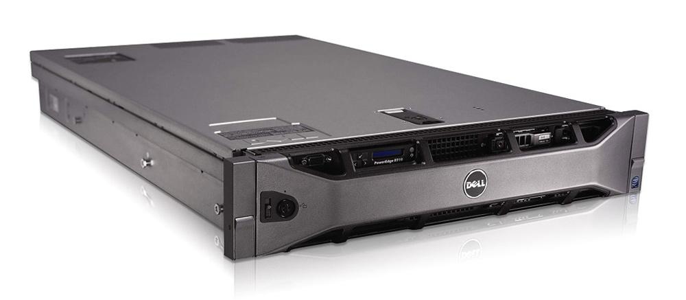 DELL Server R710 V.2, 2x E5620, 8GB, 2x PSU, H700, iDRAC6, 8SFF, REF SQ - DELL 24470