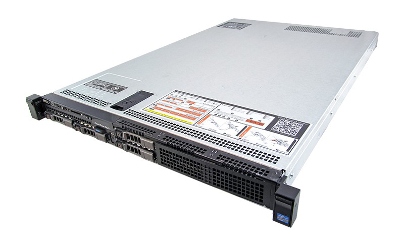 DELL Server PowerEdge R620, 2x E5-2620, 8GB, DVD, 2x750W, 4x SFF, REF SQ - DELL 26765