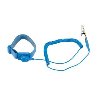 SPROTEK ESD Αντιστατικό Καρπού ST-A602 με Velcro, Μπλε - SPROTEK 8472