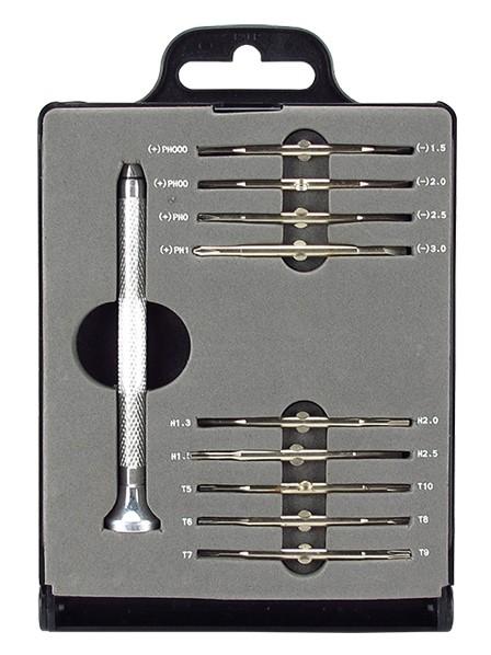 SPROTEK Σετ Κατσαβίδια ακριβείας STD-5319, Κασετίνα, 19 τεμ. - SPROTEK 8511