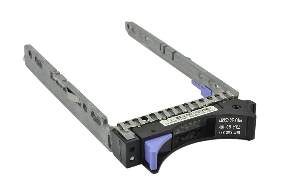 "SAS HDD Drive Caddy Tray 59P5241 για Lenovo X3650, X3850, 2.5"" (used) - UNBRANDED 18161"
