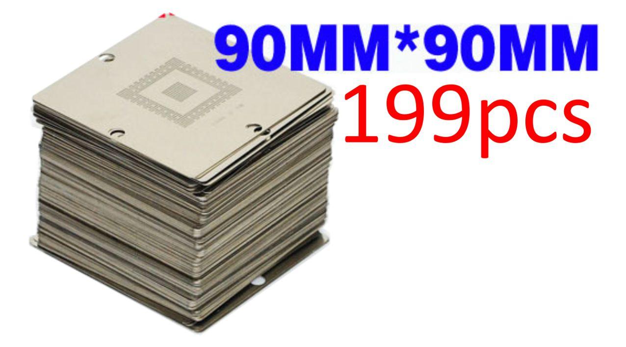 199 PCS 90x90 stencils - UNBRANDED 10004