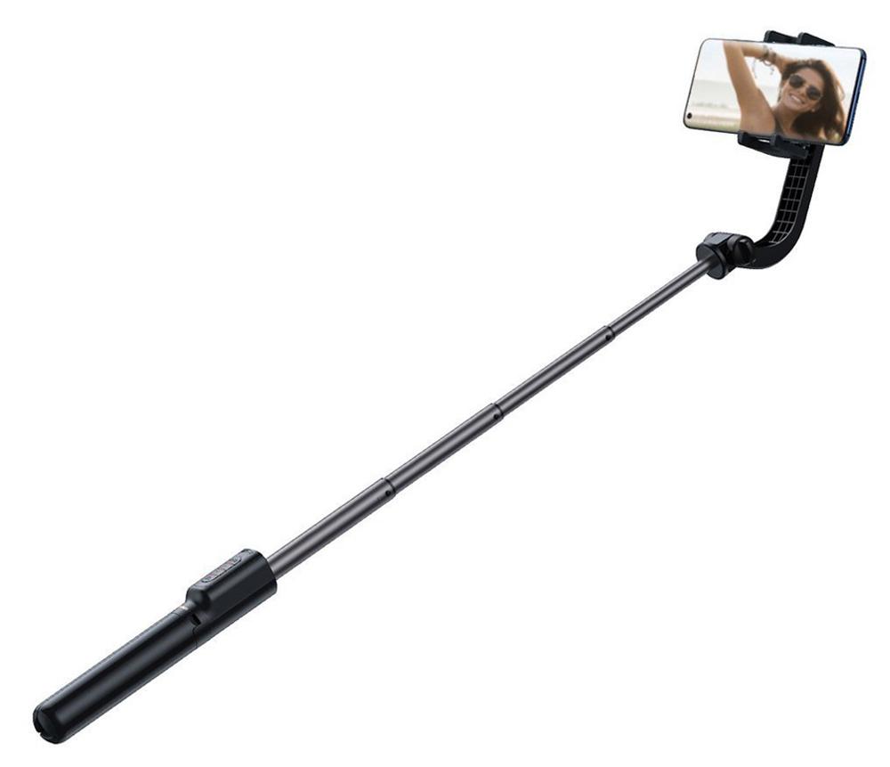 BASEUS selfie stick SULH-01, εώς 72cm, αντικραδασμικό, μαύρο - BASEUS 36647