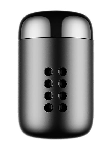 BASEUS αρωματικό αυτοκινήτου SUXUN-PD01 μεταλλικό, 5 ανταλλακτικά, μαύρο - BASEUS 25447