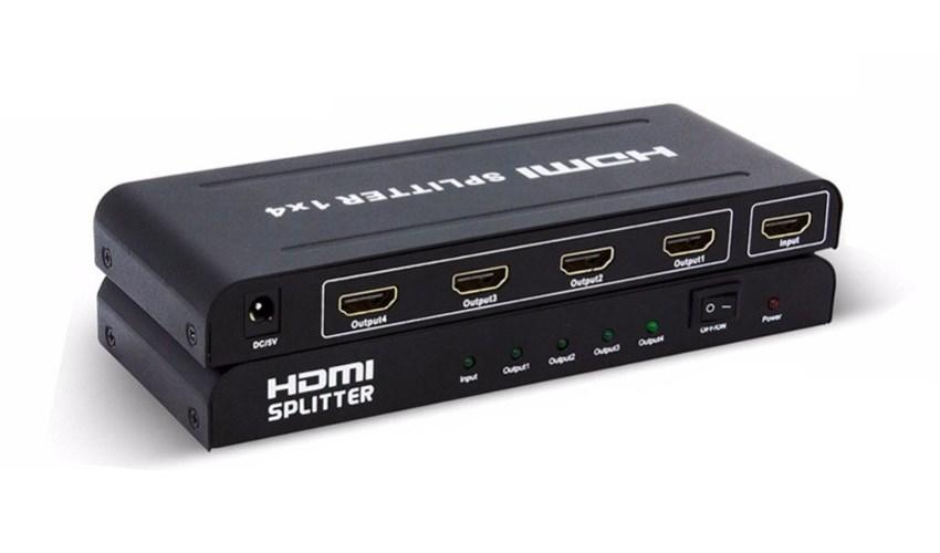 HDMI Splitter, 1 input σε 4 output - POWERTECH 13910