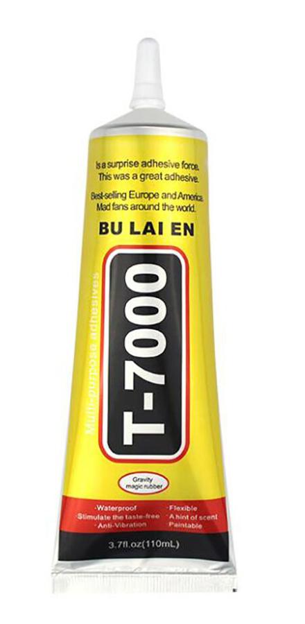 Κόλλα πολλαπλών χρήσεων T-7000-110, 110ml, μαύρη - UNBRANDED 25570