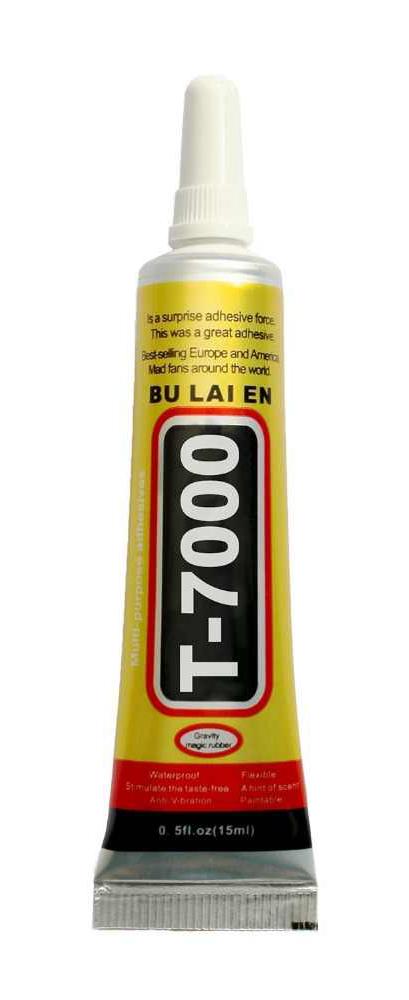 Κόλλα πολλαπλών χρήσεων T-7000-15, 15ml, μαύρη - UNBRANDED 25569