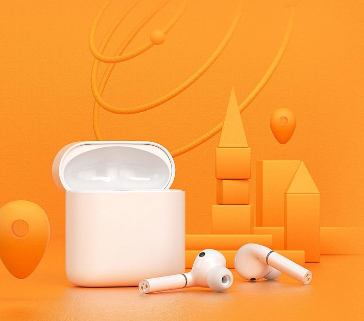 HAYLOU earphones T19, true wireless, θήκη φόρτισης, λευκά - HAYLOY 31191