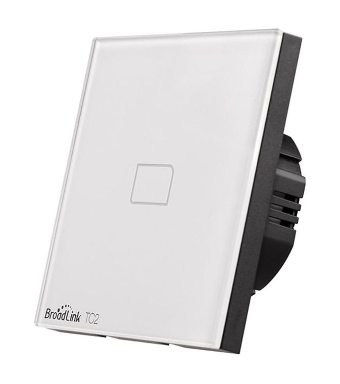 BROADLINK Έξυπνος Διακόπτης τοίχου TC2, Touch & Remote, Μονός - BROADLINK 13975