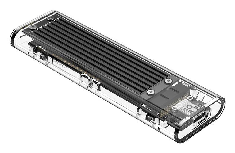 ORICO θήκη για Μ.2 B key SSD TCM2-C3, USB3.1, 10Gbps, 2TB, μαύρο - ORICO 37193