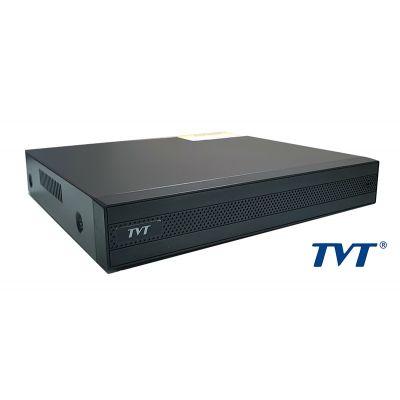 TVT Υβριδικό καταγραφικό υψηλής ευκρίνειας TD-2108TS-C, DVR, 8 Κανάλια - TVT 18050