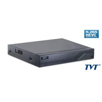 TVT Υβριδικό καταγραφικό TD-2108TS-HC, H265+ Full HD, 4x IP, 8 Κανάλια - TVT 24760