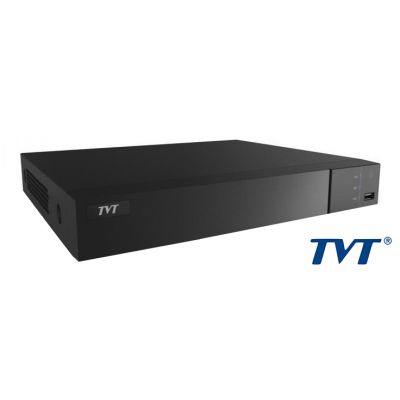 TVT Δικτυακό IP καταγραφικό υψηλής ευκρίνειας TD-3216H1, NVR, 16 Κανάλια - TVT 14329