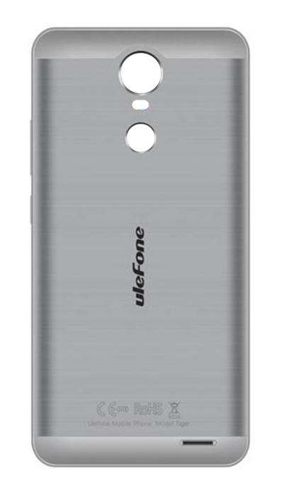 ULEFONE Battery Cover για Smartphone Tiger, Gray - ULEFONE 16885