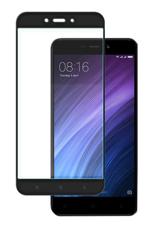 POWERTECH Tempered Glass 9H UV Protect για Xiaomi Redmi 4A, Βlack - POWERTECH 16556