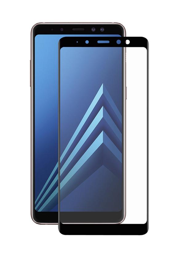 POWERTECH Tempered Glass 3D Full Face για Samsung A8 Plus 2018, Black - POWERTECH 19023