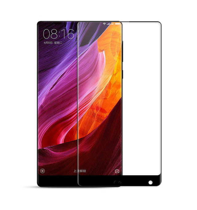 POWERTECH Tempered Glass 3D, Mini, για Xiaomi Mix 2, Black - POWERTECH 19026