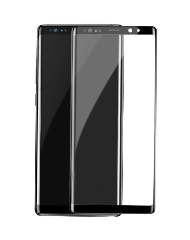 POWERTECH Tempered Glass 3D, Mini, για Samsung Note 8, Black - POWERTECH 19028