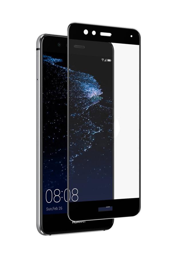POWERTECH Tempered Glass 3D για Huawei P10 Lite, μαύρο - POWERTECH 20437