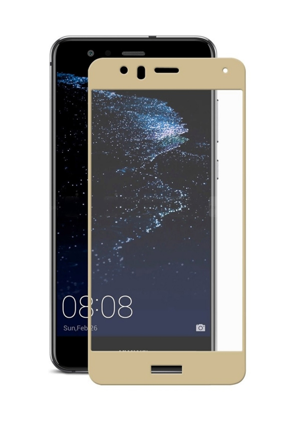 POWERTECH Tempered Glass 3D για Huawei P10 Lite, χρυσό - POWERTECH 20438