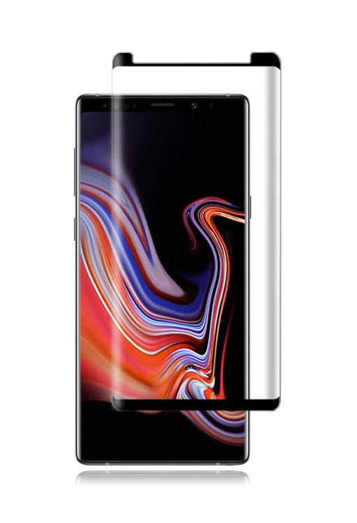 POWERTECH Tempered Glass 3D για Samsung Galaxy Note 9, mini, μαύρο - POWERTECH 20439