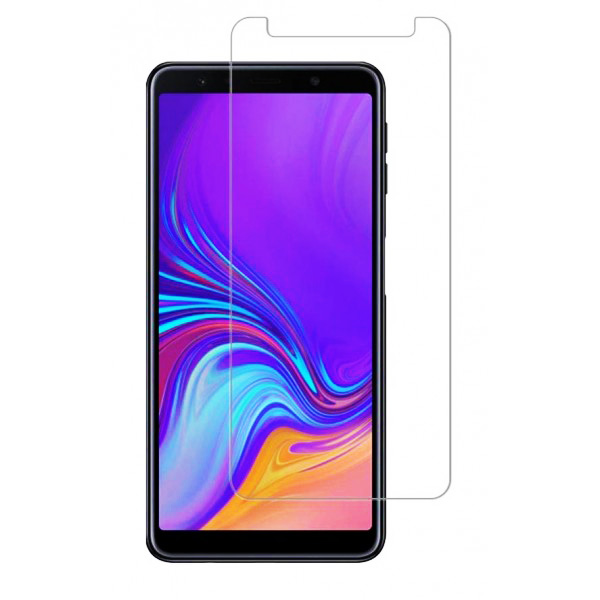 POWERTECH Tempered Glass 9H(0.33MM), για Samsung A7 2018 - POWERTECH 23738