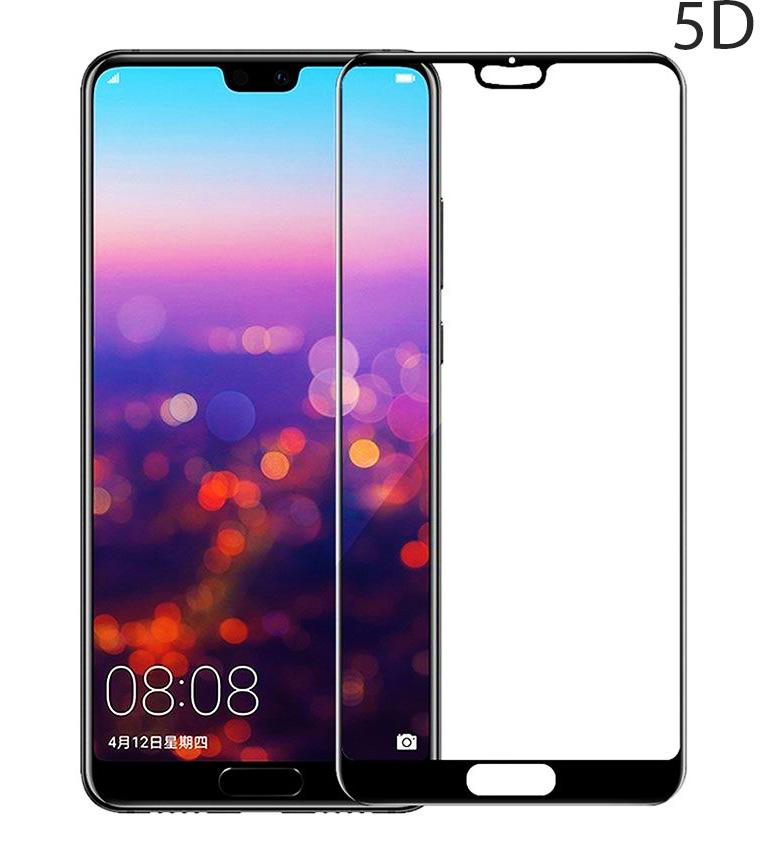 POWERTECH Tempered Glass 5D Full Glue για Huawei P20, Black - POWERTECH 23632