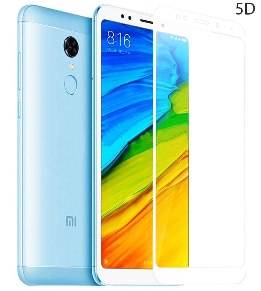 POWERTECH Tempered Glass 5D Full Glue για Xiaomi Redmi 5, White - POWERTECH 23639
