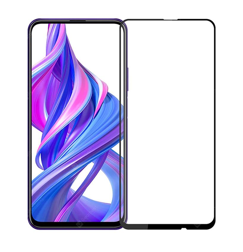 POWERTECH Tempered Glass 5D, Full Glue, Honor 9X/9X Pro, μαύρο - POWERTECH 26165