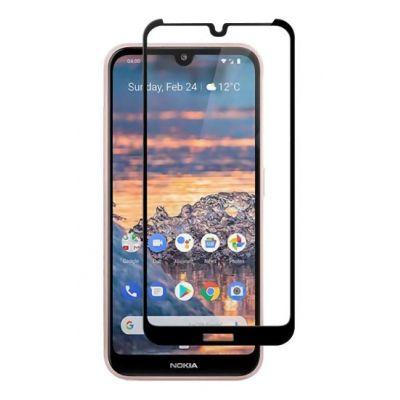 POWERTECH Tempered Glass 5D, Full Glue, Nokia 6.2/6.3/7.2, μαύρο - POWERTECH 26514