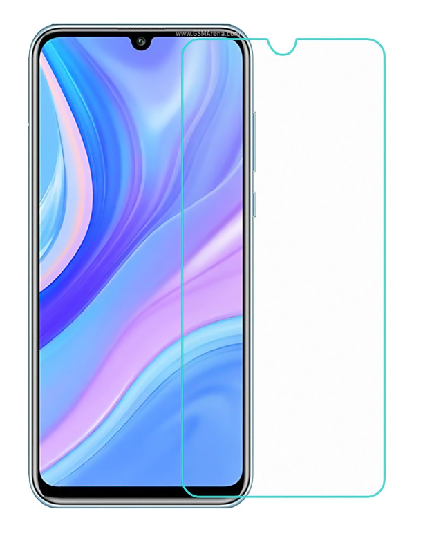 POWERTECH Tempered Glass 9H(0.33MM) για Huawei Y8p 2020 - POWERTECH 30520