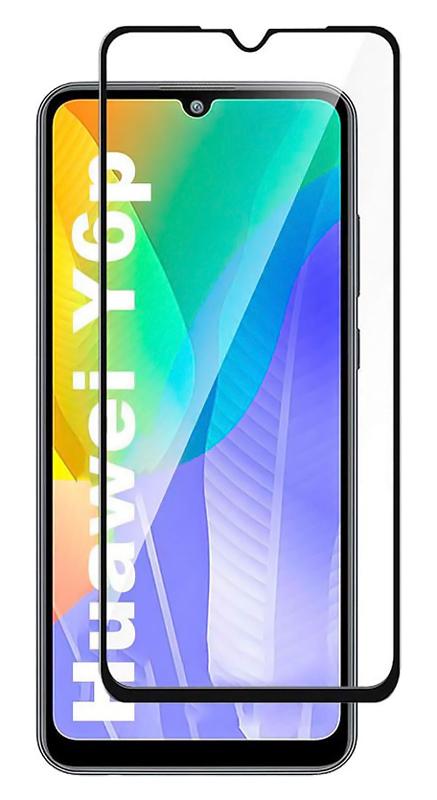POWERTECH Tempered Glass 5D για Huawei Y6p, full glue, μαύρο - POWERTECH 30233